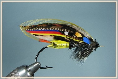 The Jock Scott, a traditional salmon fly